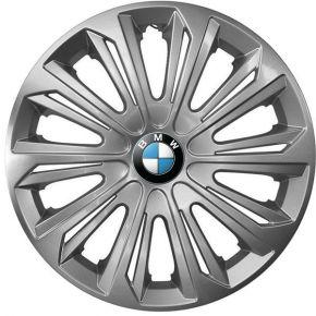"""Puklice pre BMW 14"""", STRONG SIVÉ LAKOVANÉ 4ks"""