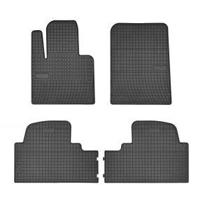 Autó gumiszőnyeg HYUNDAI SANTA FE III 4 db 2015-up