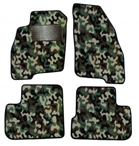 Army car mats Fiat Punto Grande 2005-up 4ks