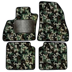Army car mats Fiat 500L 2012-up 4 ks