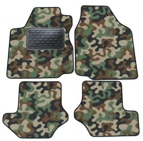 Army car mats Ford Fiesta 1996-2002 4ks