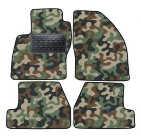 Army car mats Ford Focus III  / C max II   2011-up