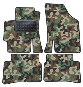 Army car mats Kia Rio II 2005-2011  4ks