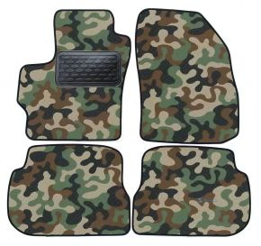 Army car mats Mazda 3 2004-2009  4ks