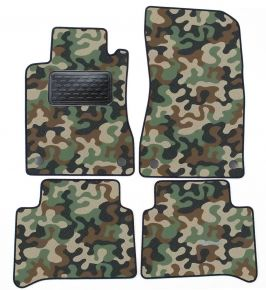 Army car mats Mercedes E Class W211 2010-up