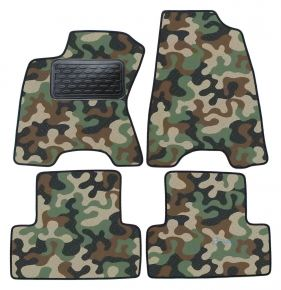 Army car mats Nissan X-trail  T31 2007-2011