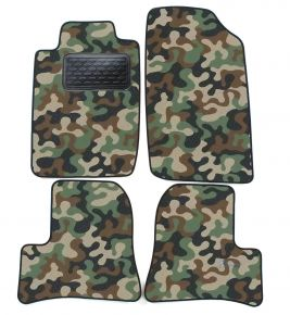 Army car mats Peugeot 206 , 206+ 1998-2005 4ks