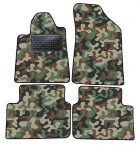 Army car mats Peugeot 407 2004-2011 4ks