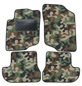 Army car mats Peugeot 207 CC