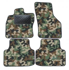 Army car mats Skoda Octavia III  2013-up  4ks