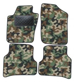 Army car mats Volkswagen Polo 6R / Ibiza 6J  2008-up 4ks