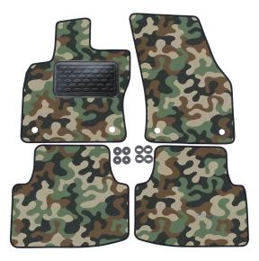 Army car mats Volkswagen Tiguan 2016-up 4ks