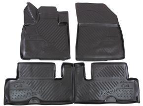 Autó gumiszőnyeg CITROEN C4 Picasso  2014-up 4 db