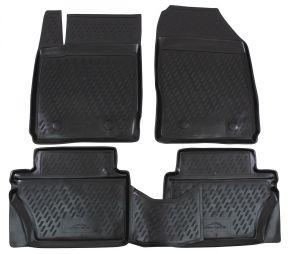 Autó gumiszőnyeg FORD Fiesta 2008-2011  4 db
