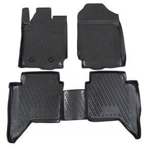 Autó gumiszőnyeg FORD FORD Ranger  4 doors  2012-up 4 db