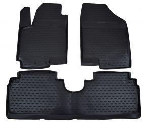 Autó gumiszőnyeg KIA Venga /Hyundai ix20  2010-up 3 db