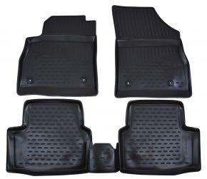 Autó gumiszőnyeg OPEL Astra K  2015-up hb 4 db