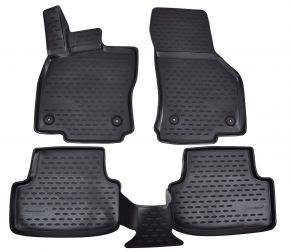 Autó gumiszőnyeg SEAT Leon  2012-up  4 db