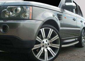 Oldalsó fellépők, Land Rover Range Rover Sport OE Style 2006-2012