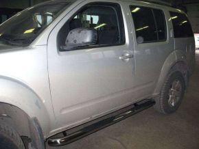 Rozsdamentes oldalsó keretek, Nissan Pathfinder