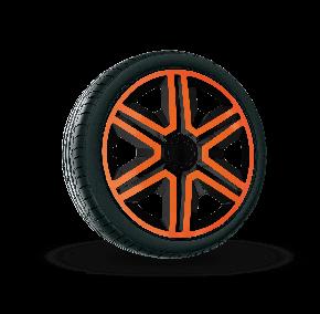 """Dísztárcsa CITROEN 14"""", ACTION DOUBLECOLOR narancssárga-fekete 4 db"""