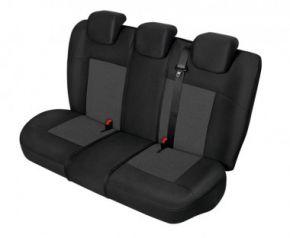 Autóhuzatok Fiat Grande Punto Univerzális huzatok APOLLO huzatok a hátsó ülésre fekete+ grafitszürke