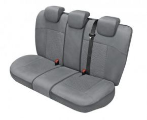Autóhuzatok Citroen C4 Cactus Méretezett huzatok ARCADIA huzatok a hátsó ülésre galambszürke
