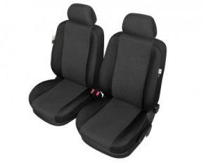 Autóhuzatok BMW 3 sorozat (E46) Pólós védőhuzatok ARES huzatok az első ülésekre fekete