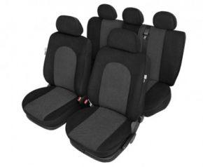 Autóhuzatok Fiat Idea Pólós védőhuzatok Az ATLANTIC Autóhuzatok fekete - készlet
