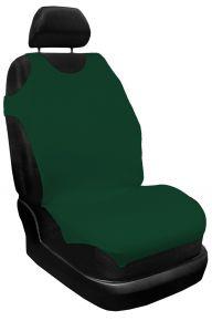 Üléshuzat 100% pamut, zöld, első 2db