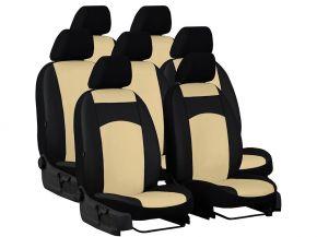 Méretre varrott huzatok bőr AUDI Q7 II 7s. (2015-2020)