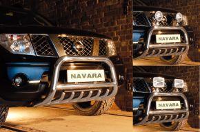 Steeler gallytörő rács Nissan Navara 2005-2010 Modell G