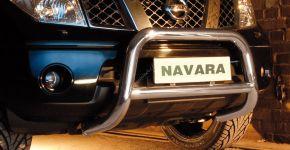 Steeler gallytörő rács Nissan Navara 2005-2010 Modell A