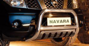 Steeler gallytörő rács Nissan Navara 2005-2010 Modell S