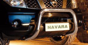 Steeler gallytörő rács Nissan Navara 2010-2015 Modell U