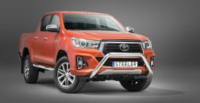 Steeler gallytörő rács TOYOTA HILUX (SELECTION 50) 2018-, 76 mm Modell U