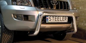 Steeler gallytörő rács Toyota Land Cruiser 120 2003-2009 Modell U