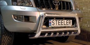 Steeler gallytörő rács Toyota Land Cruiser 120 2003-2009 Modell G