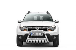 Steeler gallytörő rács Dacia Duster 2010-2014-2018 Modell S