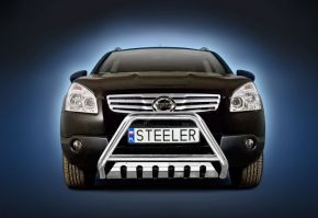 Steeler gallytörő rács Nissan Qashqai 2007-2010 Modell S