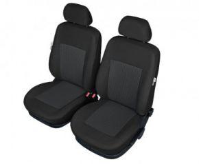 Autóhuzatok Fiat Idea Pólós védőhuzatok A BONN Autóhuzatok az elülső ülésekr mintás grafit-szürke