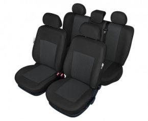 Autóhuzatok Fiat Idea Pólós védőhuzatok Az BONN Autóhuzatok mintás grafit-szürke - készlet
