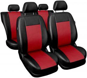 Univerzális üléshuzat Comfort piros