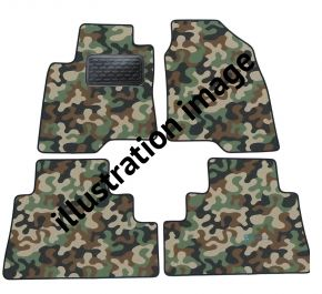Army car mats BMW 6 SERIE  E63 2004-2010
