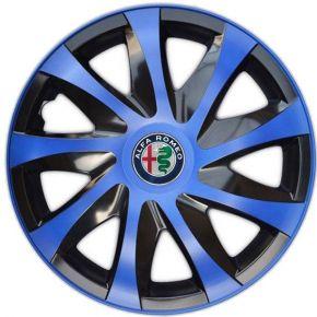 """Dísztárcsa ALFA ROMEO 14"""", DRACO kék 4 db"""