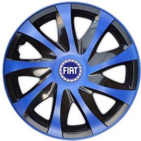 """Dísztárcsa FIAT BLUE 15"""", DRACO kék 4 db"""