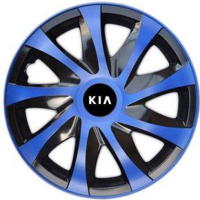 """Dísztárcsa KIA 14"""", DRACO kék 4 db"""