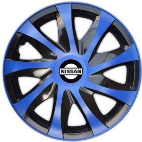 """Dísztárcsa NISSAN 14"""", DRACO kék 4 db"""