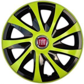 """Dísztárcsa FIAT 14"""", DRACO zöld 4 db"""