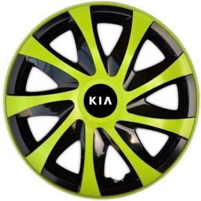 "Dísztárcsa KIA 14"", DRACO zöld 4 db"